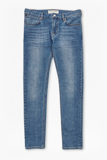 S66 Co Skinny Bleach Denim Jeans
