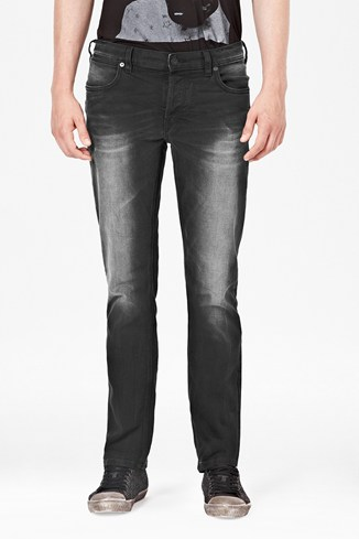 Schwarz Denim New Slim Jeans