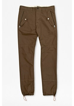Peach Pie Twill Trousers