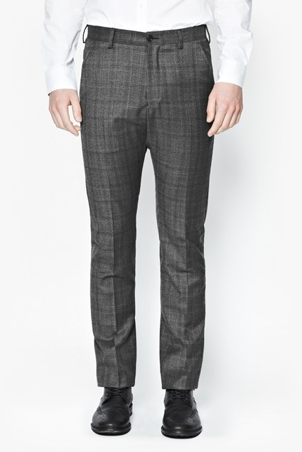 Wales Check Trousers