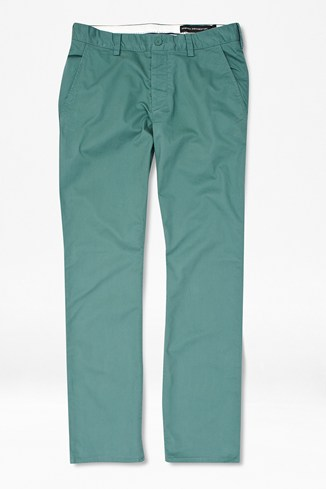 Cotton Stretch Tailored Trousers