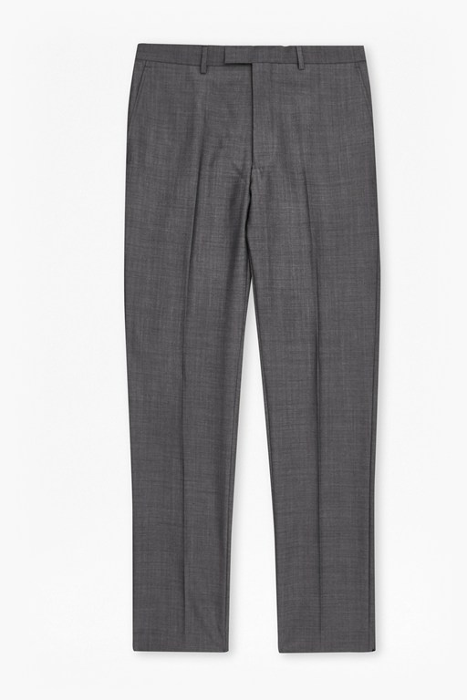 MB Sharkfin Grey Suit Trousers