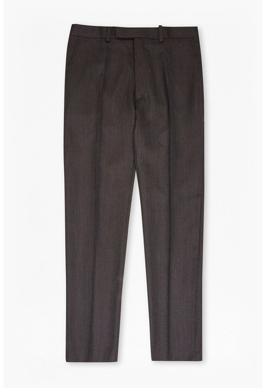 Brown Texture Trousers