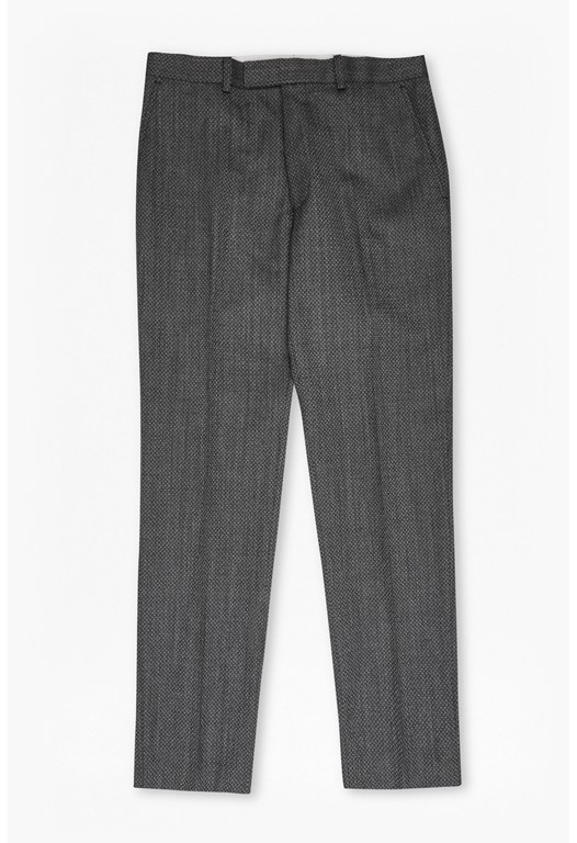Charcoal Jacquard Trousers