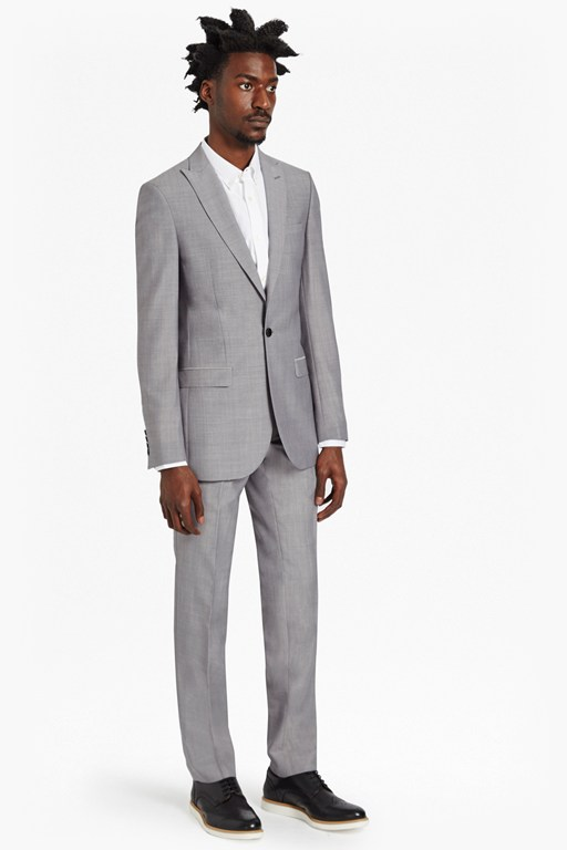 Complete the Look Slim Light Grey Suit Trousers