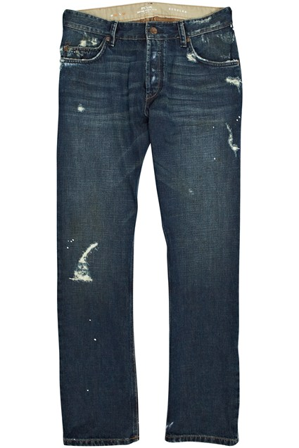 Painted Vintage Regular Fit Jeans