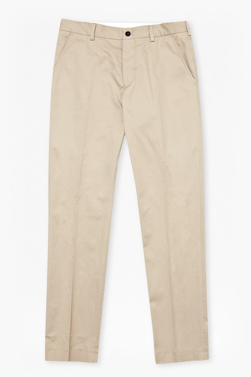 Product photo of Sander cotton osbourne trousers sand