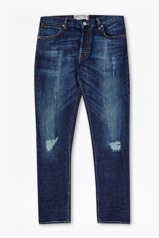 ikal stretch destroyed and repair jeans