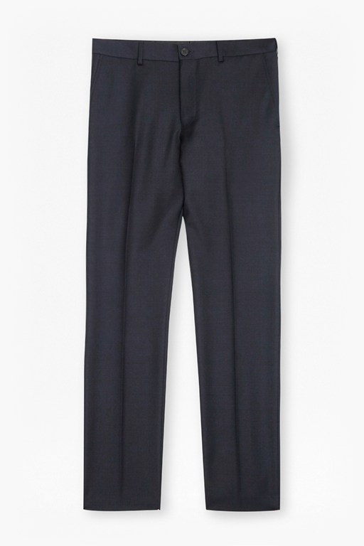 classic twill suit trousers