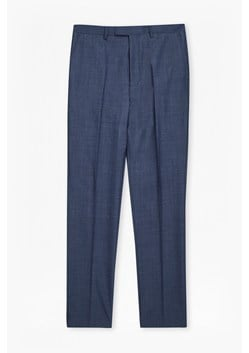 MB Blue Wool Blend Trousers