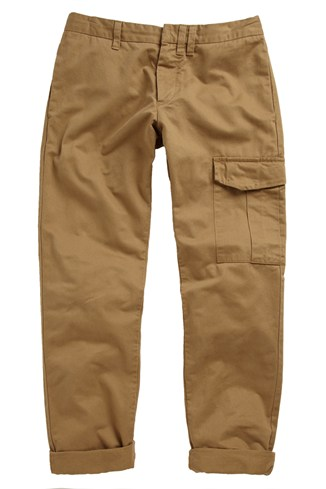Clean Cotton Washed Trousers