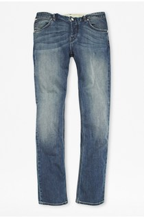 Track Denim Slim Leg Jeans