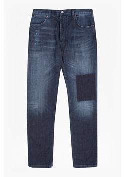 Snakeboard Stretch Slim Patchwork Jeans