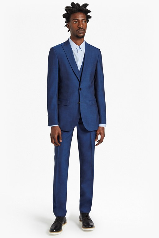 Complete the Look Slim Pin Dot Suit Trousers