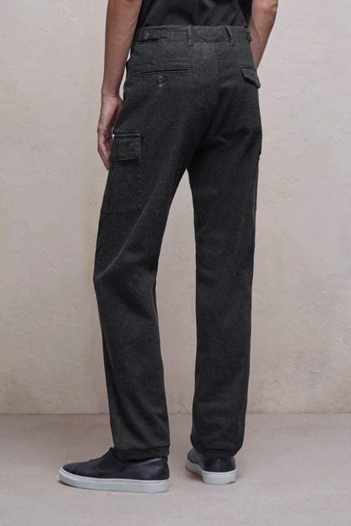 Complete the Look Brushed Cotton Twill Stretch Trousers
