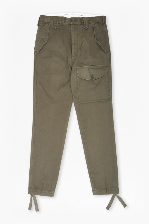 Complete the Look Compact Cotton Trousers