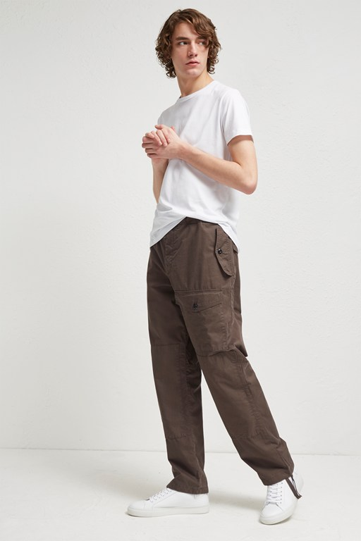 Complete the Look Pigment Peached Cotton Loose Trousers