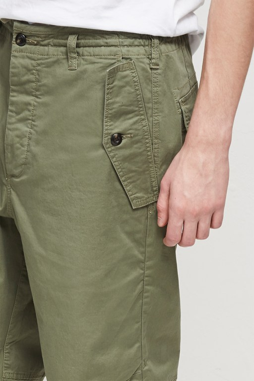 Complete the Look Military Broken Twill Drawstring Trousers