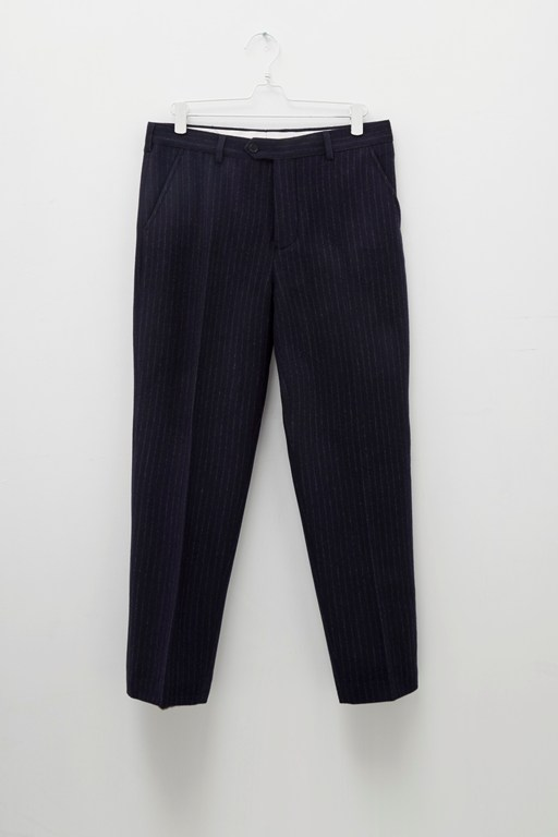 Complete the Look Patchwork Pinstripe Trousers