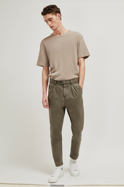 Complete the Look Inter Peach Drill Slim Trousers