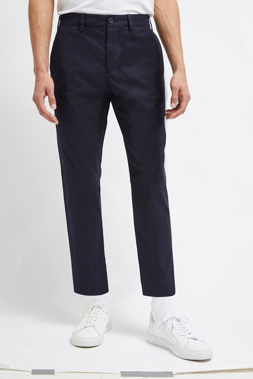 Complete the Look Machine Stretch Crop Tapered Trousers