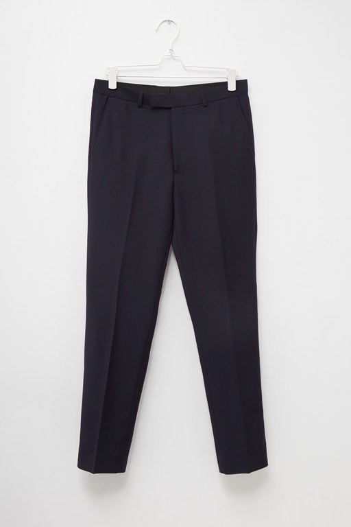 navy slim fit suit trouser