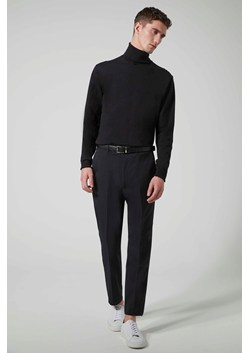 Black Slim Fit Suit Trouser