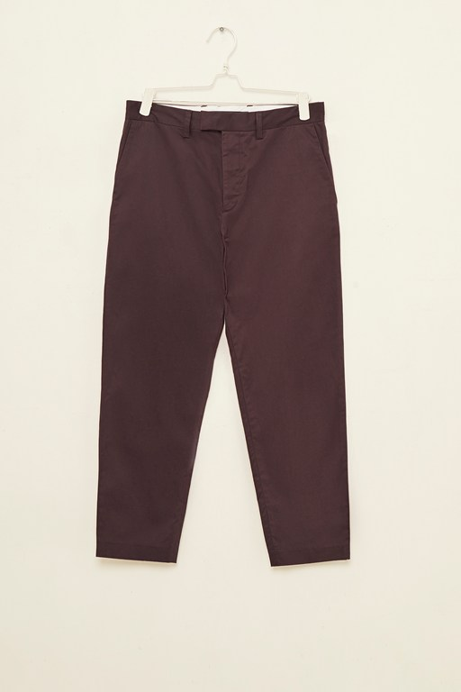 clean machine stretch crop trousers