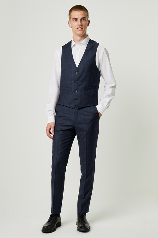 puppytooth suit trousers