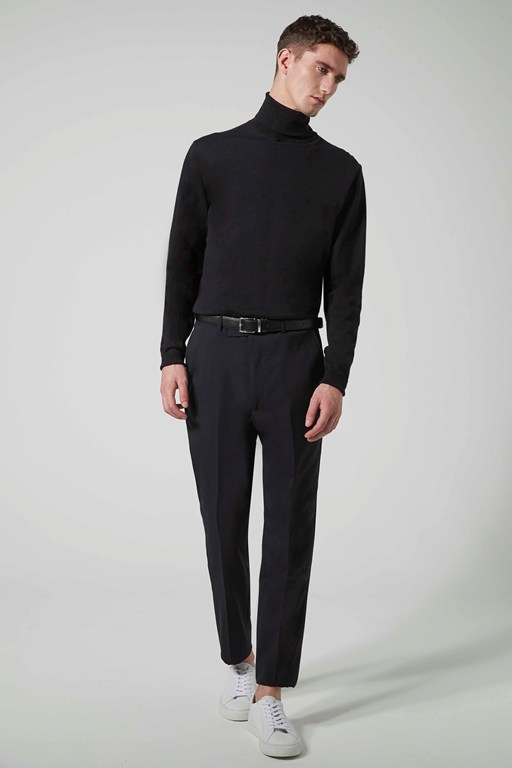 black suit trouser