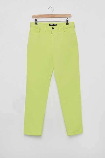 Fcuk Overdyed Denim Trousers