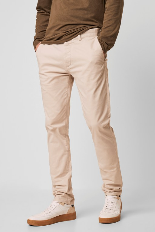 Complete the Look Washed Cotton Slim Chinos