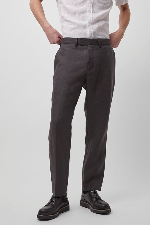 summer linen tailoring trousers