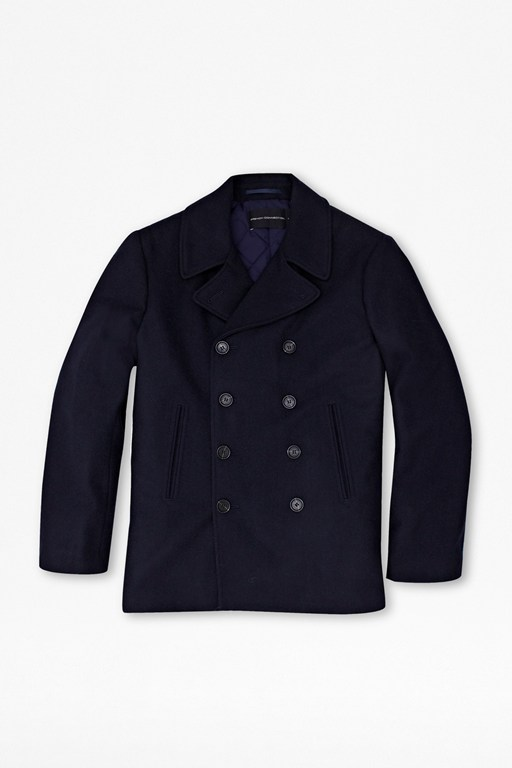 Complete the Look Marine Melton Peacoat
