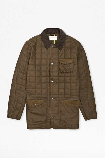 Windfall Wadded Quilted Coat