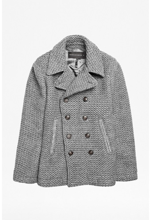 Knitted Peacoat