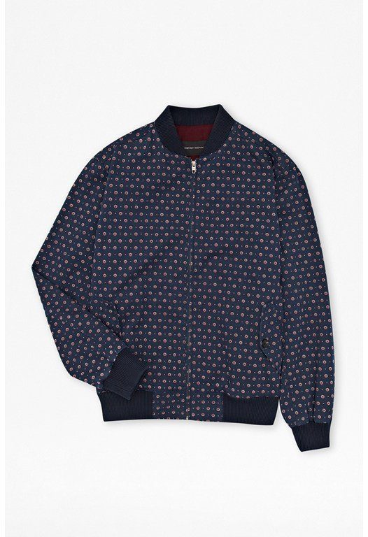 Advent Harrington Printed Bomber Jacket