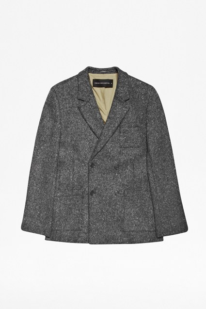 Montemurlo Double-Breasted Wool Jacket