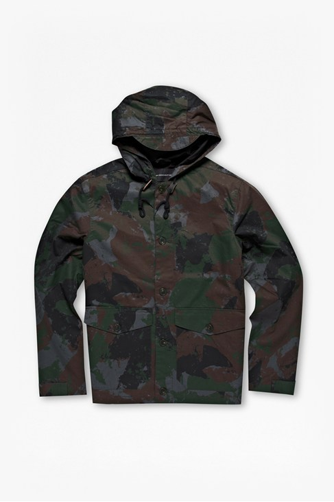 Camouflage Cotton Jacket
