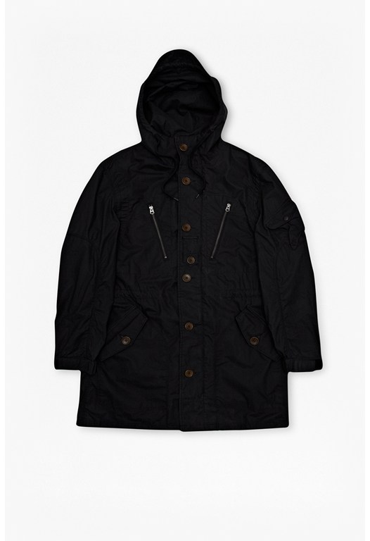 Ranunculus Cotton Hooded Parka