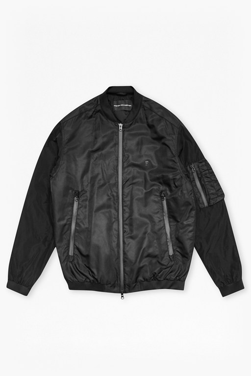 Complete the Look Stanford Nylon Bomber Jacket