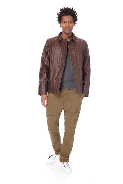 Sabah Leather Car Jacket