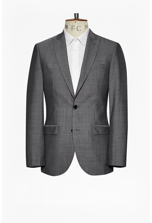 MB Sharkfin Grey Suit Jacket