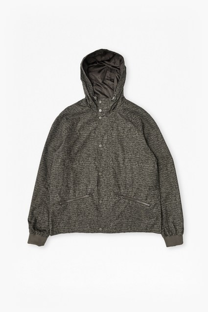 Travertine Cotton Hooded Jacket