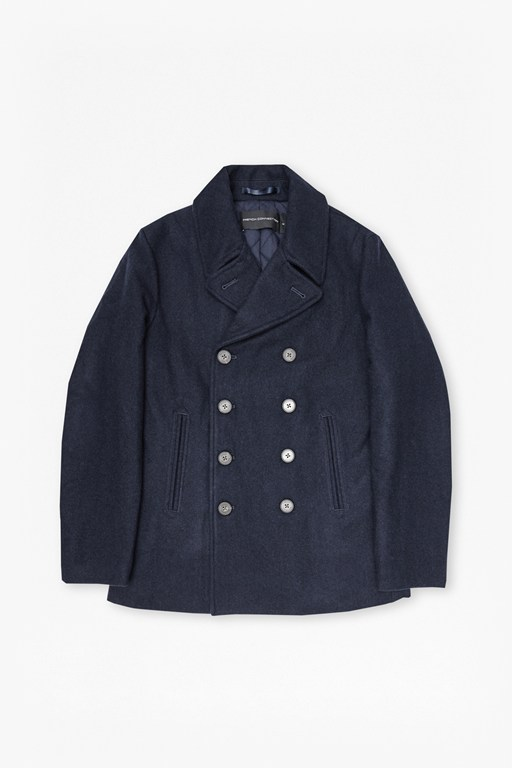 Complete the Look Marine Melton Double Breast Peacoat