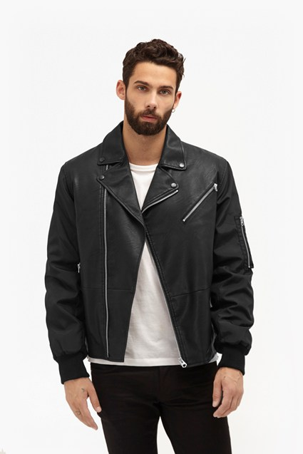 Free Wheeler Faux Leather Jacket