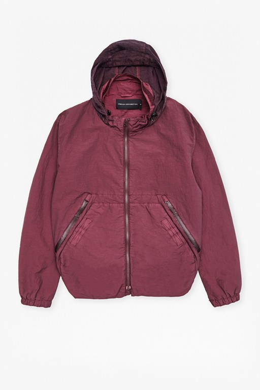 Complete the Look Garment Dyed Ottoman Track Jacket
