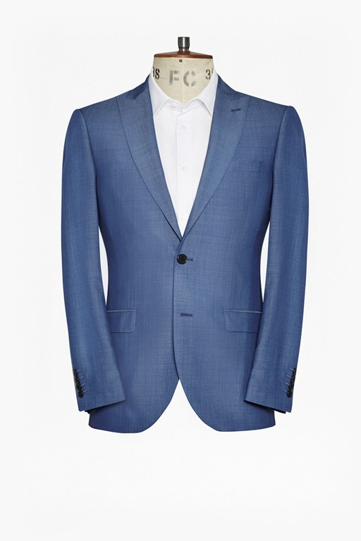 Complete the Look Slim Mid Blue Suit Jacket