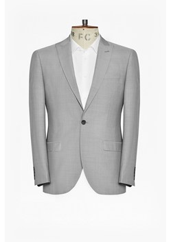 Slim Light Grey Suit Jacket