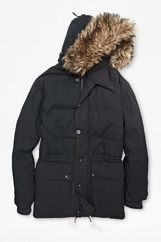 Antarctica Wadded Coat